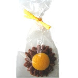 Chocolate Sunflower Gift Bag Piece