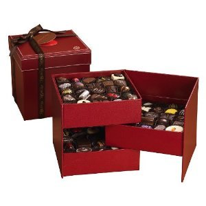 Choclatique Magic Box Red Leather