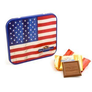 Ghirardelli Chocolate Postcard Squares Chocolates