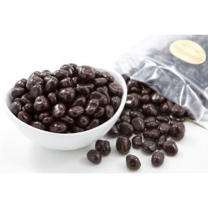 Dark Chocolate Covered Cranberries Pound