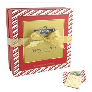 Ghirardelli Chocolate Deluxe Peppermint Squares