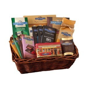 Ghirardelli Chocolate Connoisseur Gift Basket