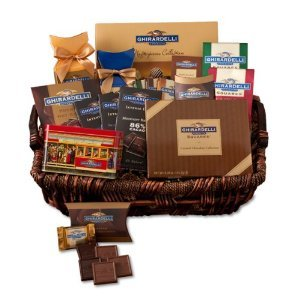 Ghirardelli Chocolate Things Gift Basket