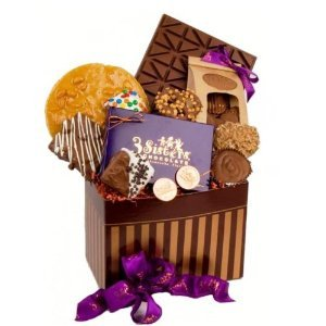 Chocolate Lovers Super Deluxe Basket