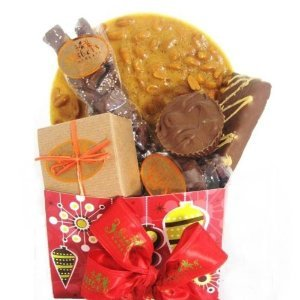 Chocolate Peanut Butter Christmas Basket