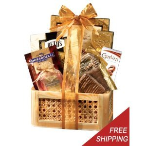 Gourmet Chocolate Holiday Gift Basket