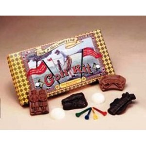 Golf Solid Milk Chocolate Gift