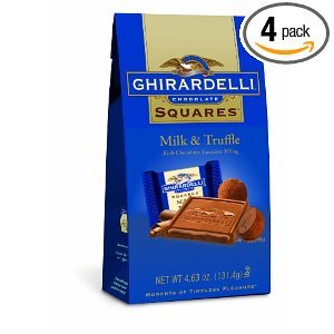 Ghirardelli Chocolate Squares Truffle 4 63 Ounce