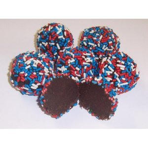 Scotts Cakes Chocolate Patriotic Jimmies