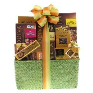 Wine Com Godiva Milk Chocolate Basket