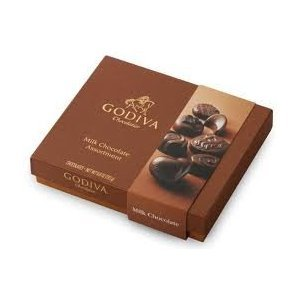 Godiva Small Milk Chocolate Assortment