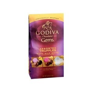 godica chocolatier and godiva gems Godiva gems milk chocolate truffles originally uploaded by sugarpressurecomi first saw that godiva was going to introduce a new gems line of chocolates in the.