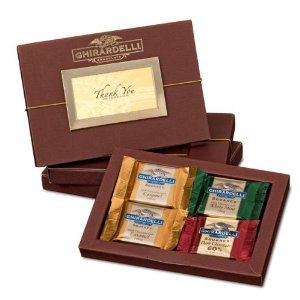 Ghirardelli Chocolate Thank Business Folio